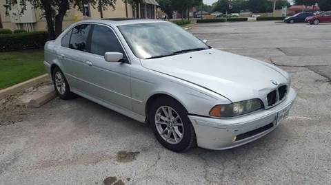 2003 BMW 5 Series for sale at Bad Credit Call Fadi in Dallas TX