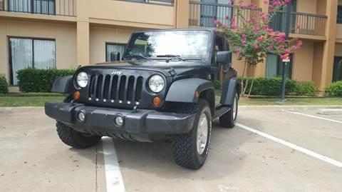 2008 Jeep Wrangler for sale at Bad Credit Call Fadi in Dallas TX
