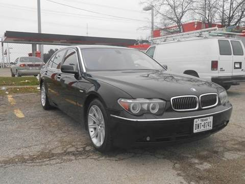 2005 BMW 7 Series for sale at Bad Credit Call Fadi in Dallas TX