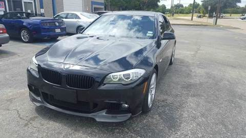 2011 BMW 5 Series for sale at Bad Credit Call Fadi in Dallas TX