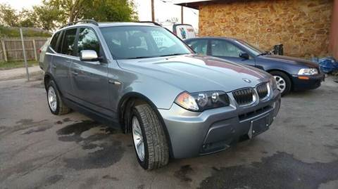 2006 BMW X3 for sale at Bad Credit Call Fadi in Dallas TX