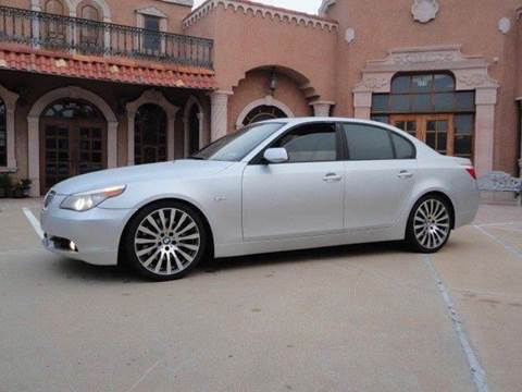 2006 BMW 5 Series for sale at Bad Credit Call Fadi in Dallas TX