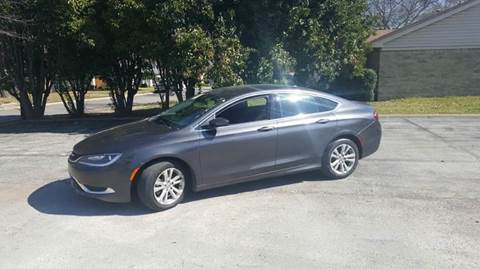2015 Chrysler 200 for sale at Bad Credit Call Fadi in Dallas TX