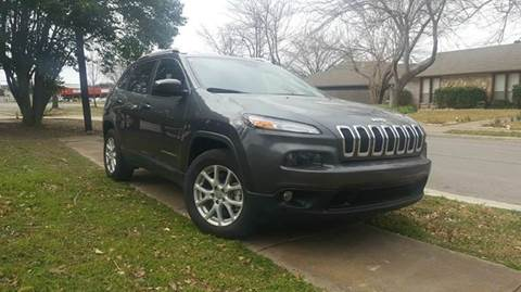 2015 Jeep Cherokee for sale at Bad Credit Call Fadi in Dallas TX
