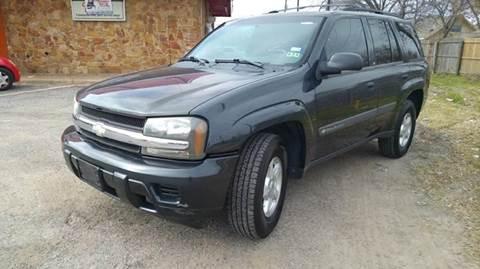 2003 Chevrolet TrailBlazer for sale at Bad Credit Call Fadi in Dallas TX