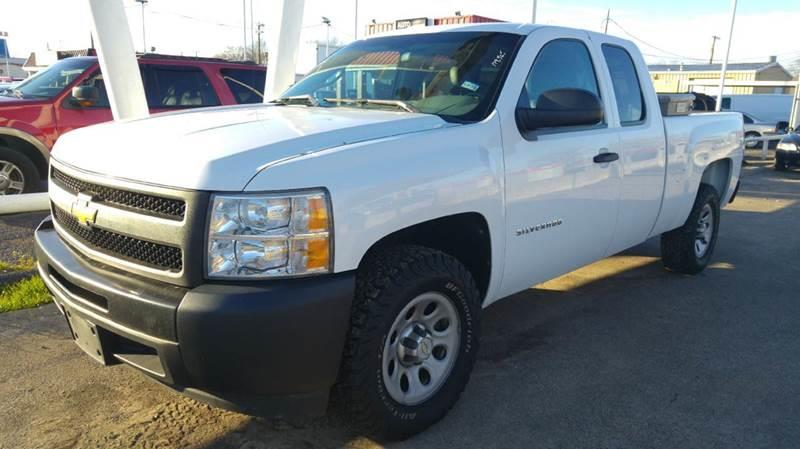 2011 chevrolet silverado 1500 work truck 4x2 4dr extended cab 6 5 ft sb in dallas tx bad. Black Bedroom Furniture Sets. Home Design Ideas