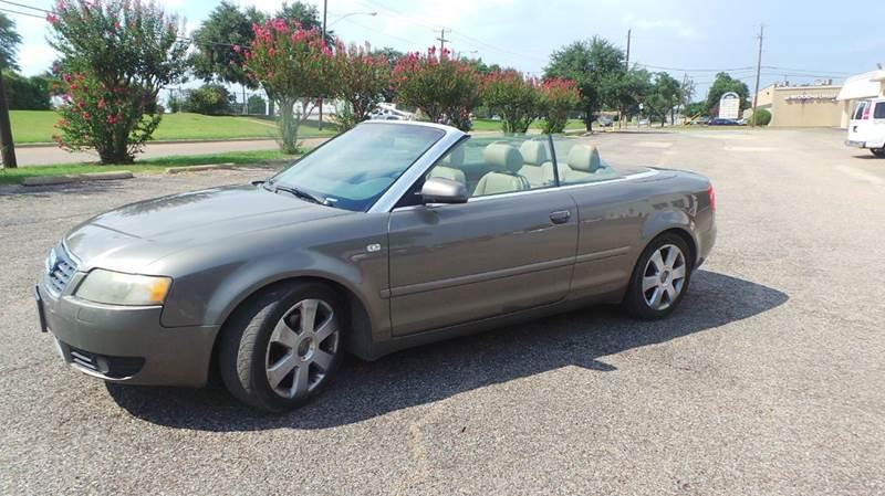 Buy Here Pay Here No License Dallas Tx >> 2006 Audi A4 1.8T 2dr Convertible In Dallas TX - Bad Credit Call Fadi