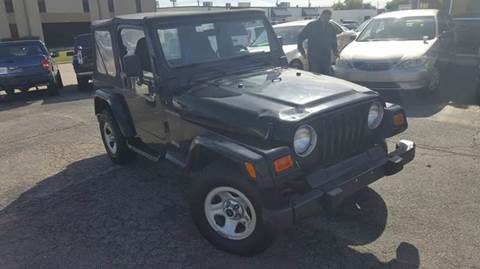 2000 Jeep Wrangler for sale at Bad Credit Call Fadi in Dallas TX