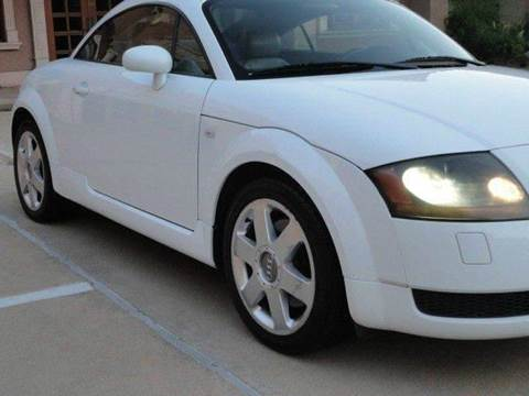 2002 Audi TT for sale at Bad Credit Call Fadi in Dallas TX