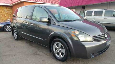 2008 Nissan Quest for sale at Bad Credit Call Fadi in Dallas TX