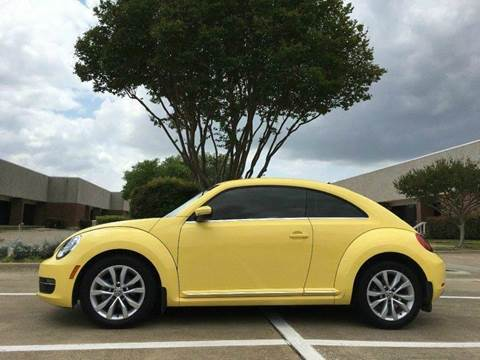 2013 Volkswagen Beetle for sale at Bad Credit Call Fadi in Dallas TX