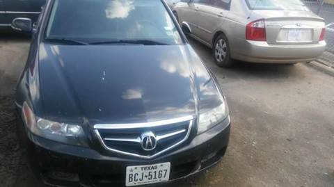 2004 Acura TSX for sale at Bad Credit Call Fadi in Dallas TX