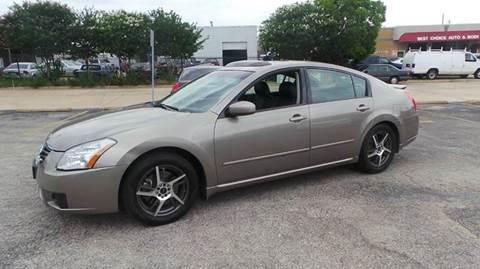 2008 Nissan Maxima for sale at Bad Credit Call Fadi in Dallas TX