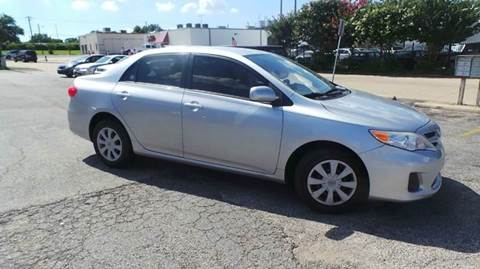 2011 Toyota Corolla for sale at Bad Credit Call Fadi in Dallas TX