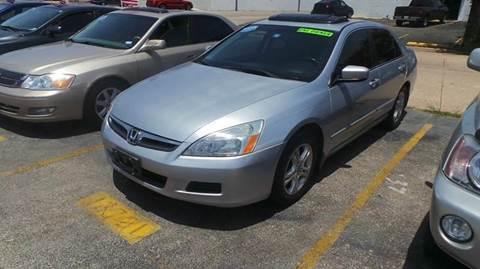 2007 Honda Accord for sale at Bad Credit Call Fadi in Dallas TX
