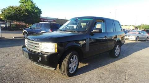 2007 Land Rover Range Rover for sale at Bad Credit Call Fadi in Dallas TX