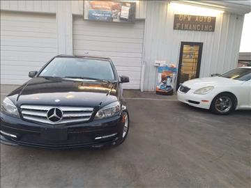 2011 Mercedes-Benz C-Class for sale at Bad Credit Call Fadi in Dallas TX