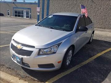 2012 Chevrolet Cruze for sale at Bad Credit Call Fadi in Dallas TX