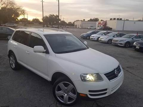 2007 Volkswagen Touareg for sale at Bad Credit Call Fadi in Dallas TX