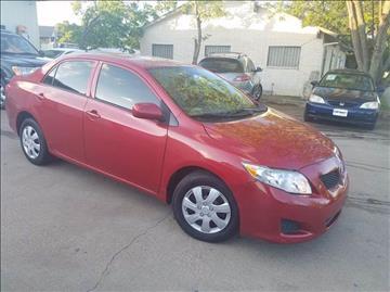 2009 Toyota Corolla for sale at Bad Credit Call Fadi in Dallas TX
