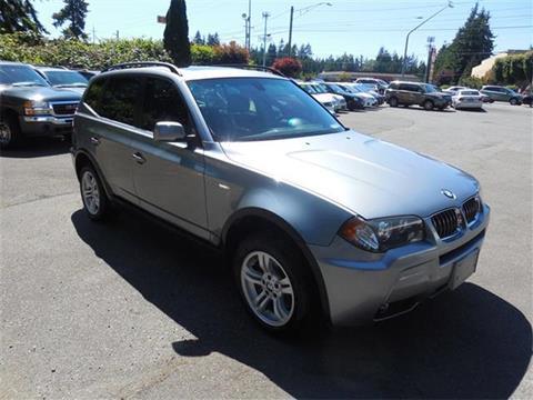 2006 BMW X3 for sale at Autoplex Motors in Lynnwood WA