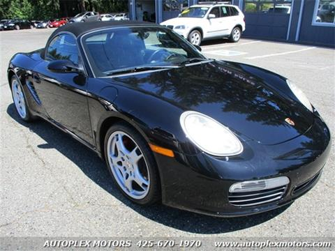 2006 Porsche Boxster for sale at Autoplex Motors in Lynnwood WA