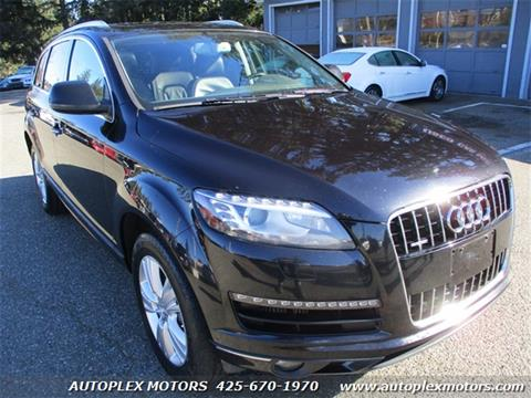 2010 Audi Q7 for sale at Autoplex Motors in Lynnwood WA