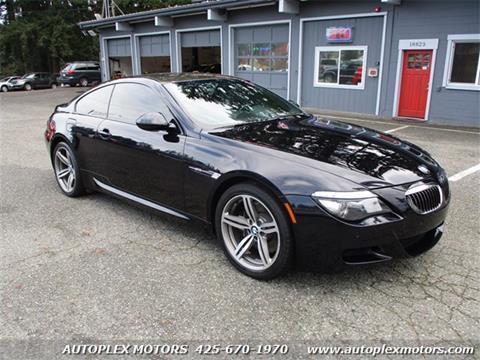2009 BMW M6 for sale at Autoplex Motors in Lynnwood WA