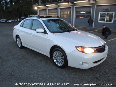 2009 Subaru Impreza for sale at Autoplex Motors in Lynnwood WA