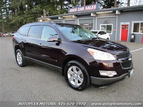 2010 Chevrolet Traverse for sale at Autoplex Motors in Lynnwood WA