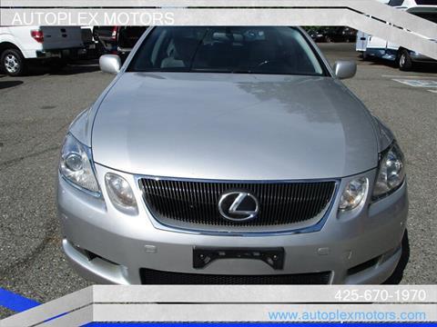 2007 Lexus GS 450h for sale at Autoplex Motors in Lynnwood WA