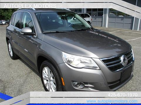 2009 Volkswagen Tiguan for sale at Autoplex Motors in Lynnwood WA