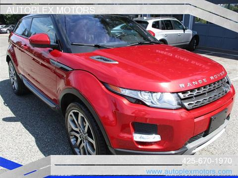 2014 Land Rover Range Rover Evoque Coupe for sale in Lynnwood, WA