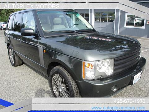 2005 Land Rover Range Rover for sale at Autoplex Motors in Lynnwood WA