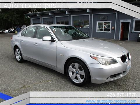 2006 BMW 5 Series for sale at Autoplex Motors in Lynnwood WA