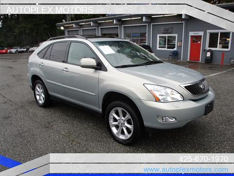 2009 Lexus RX 350 for sale at Autoplex Motors in Lynnwood WA