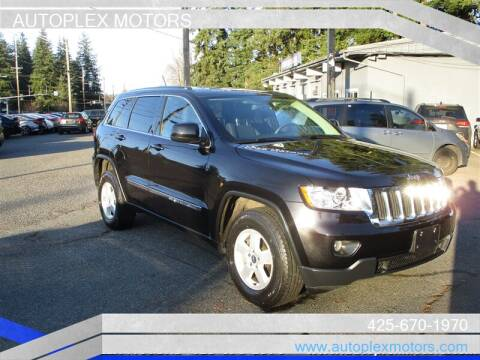 2013 Jeep Grand Cherokee for sale at Autoplex Motors in Lynnwood WA