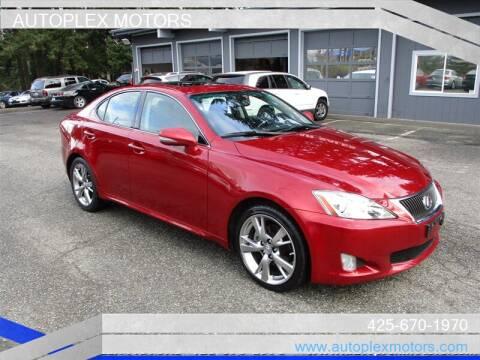 2010 Lexus IS 250 for sale at Autoplex Motors in Lynnwood WA