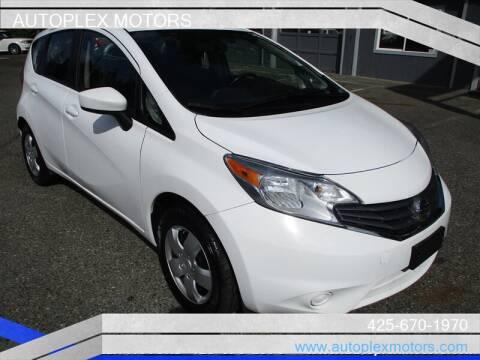 2015 Nissan Versa Note for sale at Autoplex Motors in Lynnwood WA