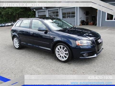 2011 Audi A3 for sale at Autoplex Motors in Lynnwood WA