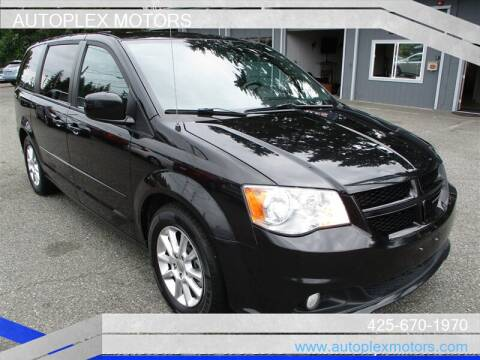 2013 Dodge Grand Caravan for sale at Autoplex Motors in Lynnwood WA