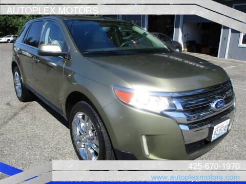 2013 Ford Edge for sale at Autoplex Motors in Lynnwood WA