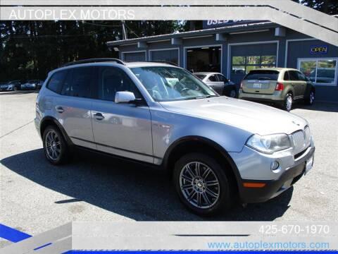 2007 BMW X3 for sale at Autoplex Motors in Lynnwood WA