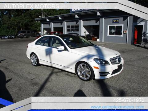 2012 Mercedes-Benz C-Class for sale at Autoplex Motors in Lynnwood WA
