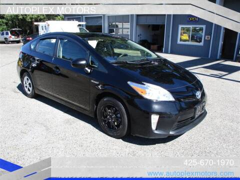 2015 Toyota Prius for sale at Autoplex Motors in Lynnwood WA