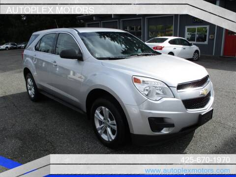 2011 Chevrolet Equinox for sale at Autoplex Motors in Lynnwood WA