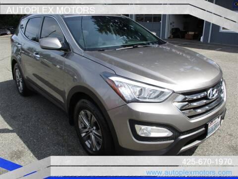 2014 Hyundai Santa Fe Sport for sale at Autoplex Motors in Lynnwood WA
