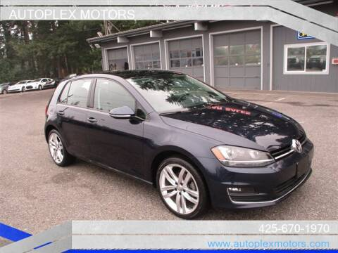 2015 Volkswagen Golf for sale at Autoplex Motors in Lynnwood WA