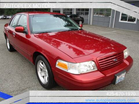2001 Ford Crown Victoria for sale at Autoplex Motors in Lynnwood WA