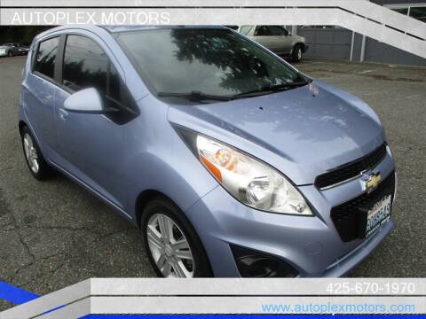 2014 Chevrolet Spark for sale at Autoplex Motors in Lynnwood WA